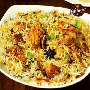 Boneless Chicken Biryani-Bhimas
