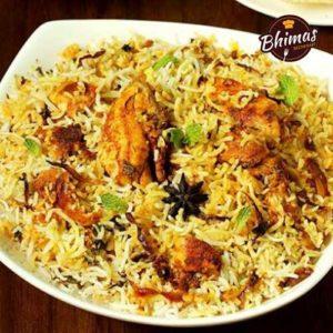 Chicken Dum Biryani-Bhimas