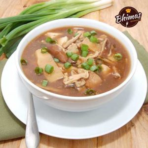 Chicken Hot and Sour Soup-Bhimas