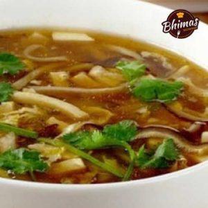 Chicken Manchow Soup-Bhimas