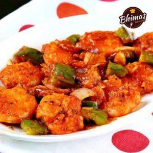 Chilli Prawns-Bhimas