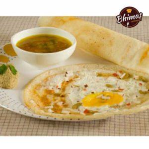Egg Dosa-Bhimas