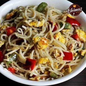 Egg Fried Rice Noodles-Bhimas