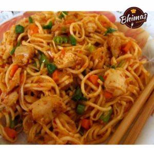 Egg Schezwan Fried Rice Noodles-Bhimas