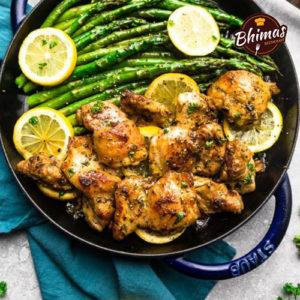 Garlic Chicken-Bhimas