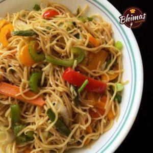 Manchow Fried Rice Noodles-Bhimas