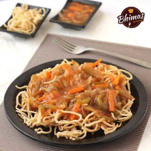 Mixed Non-Veg Fried Rice Noodles-Bhimas