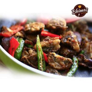 Mushroom Pepper & Salt-Bhimas