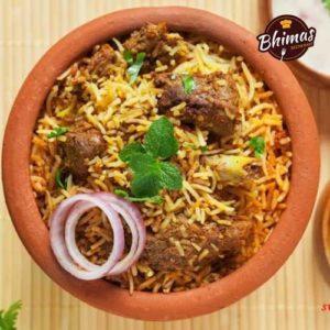 Mutton Fry Biryani-Bhimas