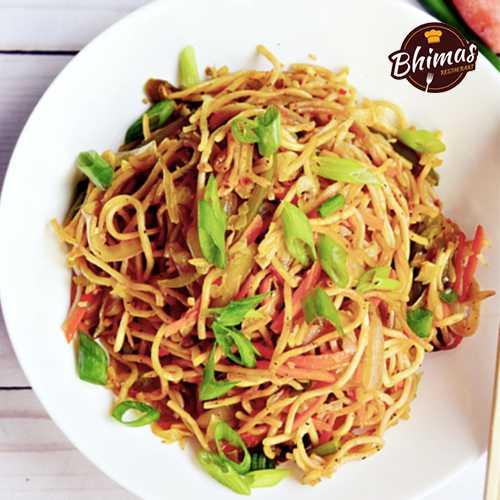 Mutton Schezwan Rice/Noodles