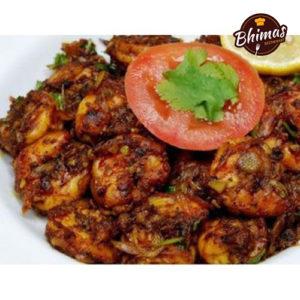 Prawns Pepper Masala-Bhimas