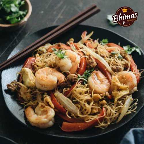Prawns Schezwan Rice/Noodles