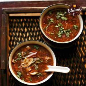 Veg Hot and Sour Soup-Bhimas