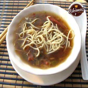 Veg Manchow Soup-Bhimas